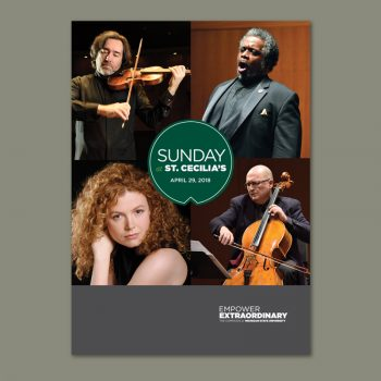 Faculty Recital Program. Photos courtesy Michigan State University.